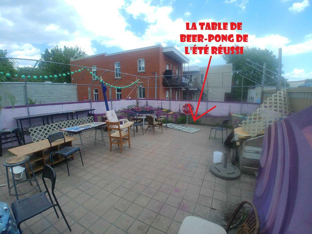 1 Chambre Collocation Montréal avec Terasse (50m2)   WeMoove