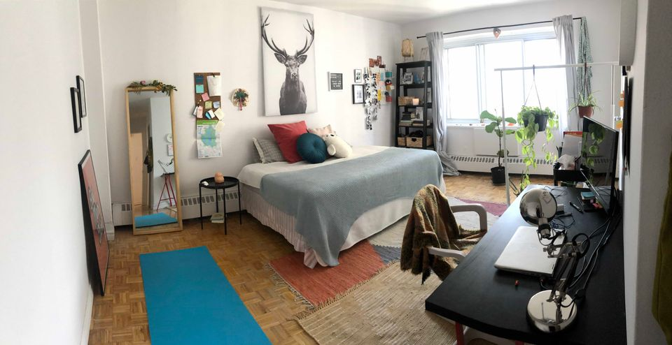 Roommate Sublet Beautiful 4 1/2 Downtown  | WeMoove Apartments