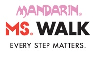 The Mandarin MS Walk Logo - Every Step Matters