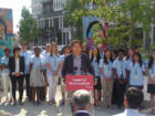 Hon. Dr. Eric Hoskins - Minister of Health and Long-Term Care Making Announcement about the New Regent Park Clinic