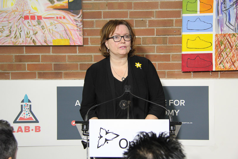Hon. Tracy MacCharles - Minister of Children and Youth Services