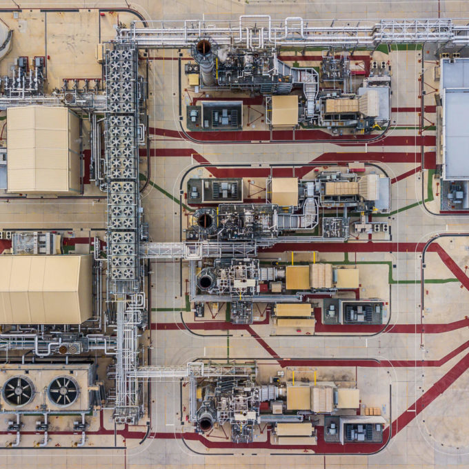 Industrial facility - Sky view 2