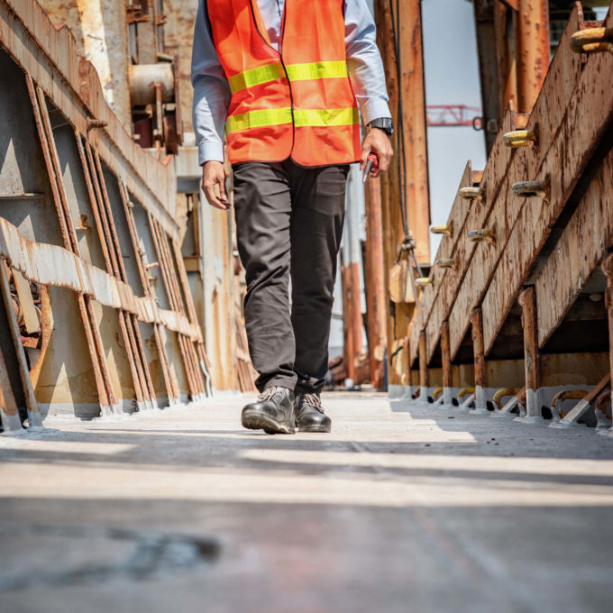 Industries - Person walking