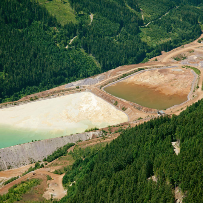 Mining - Mine tailings
