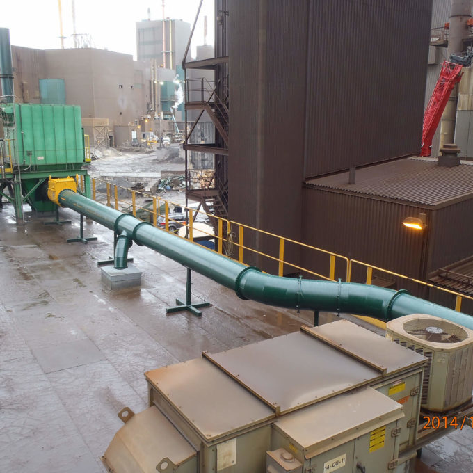 Project Page Hero dust collection system metals sector