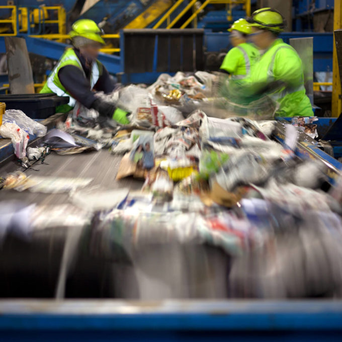 Project Page Hero household recycling plant