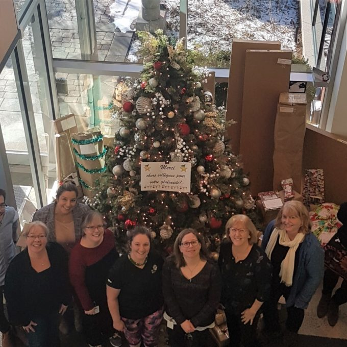 Engagement social - Collecte de fonds pour Opération Père Noel, Mont-Saint-Hilaire (QC) 2019