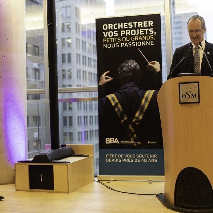 Engagement social - Commandite d'un concert de l'Orchestre symphonique de Montréal (OSM), 2019