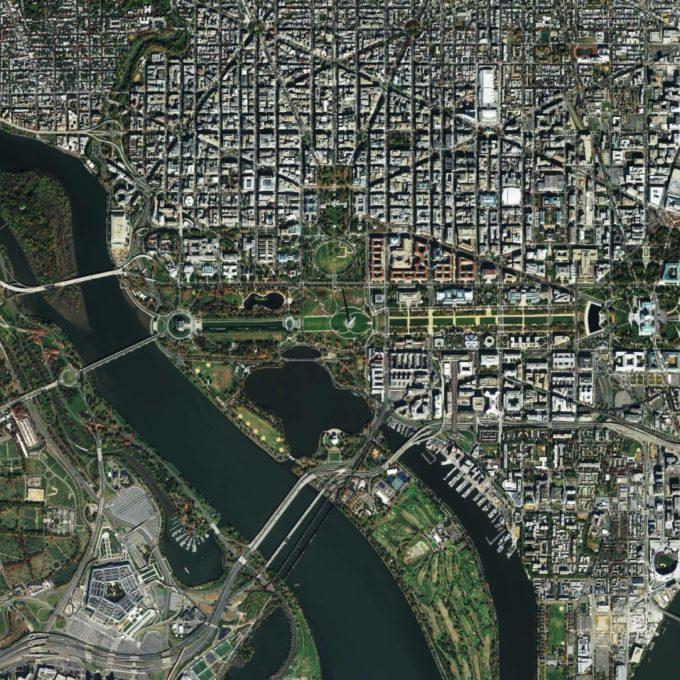 Environment - Geomatics image satellite - Earth observation