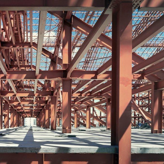 Industrial structures Metal