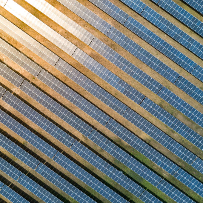 Independent Power Producers - Solar panels sun reflecting