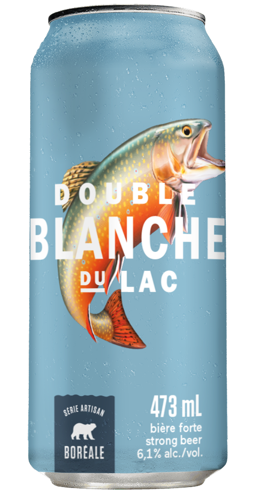 3 D Can Double Blanche Du Lac