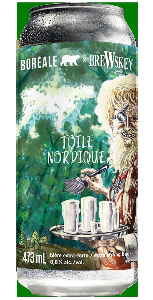 3 D Can Toile Nordique