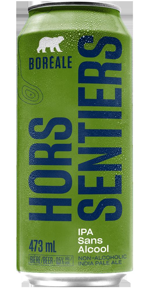 Boreale IPA Sans Alcool cannette