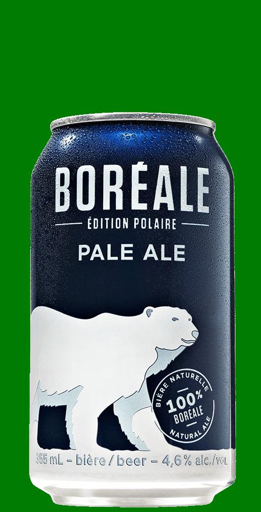 Boreale ale pale cannette