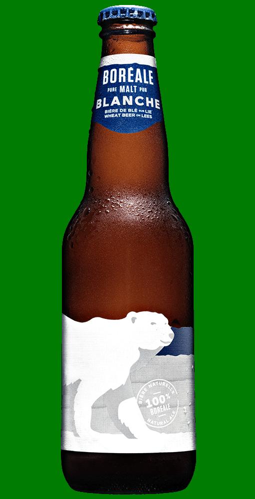 Boreale blanche bouteille