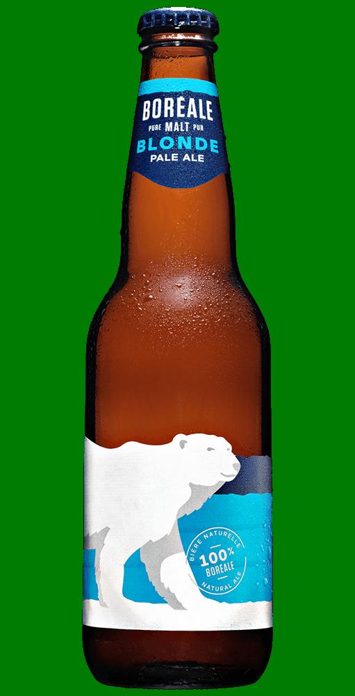 Boreale blonde bouteille