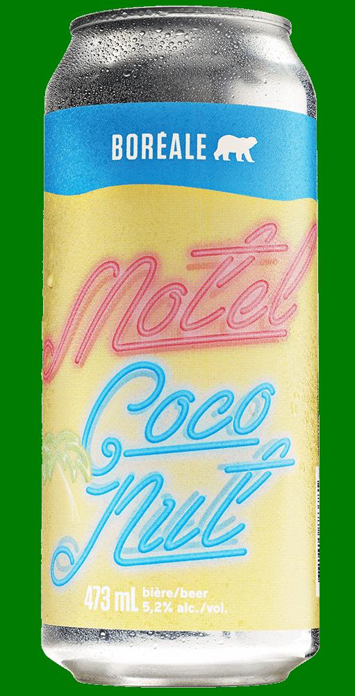 Boreale coco motel cannette