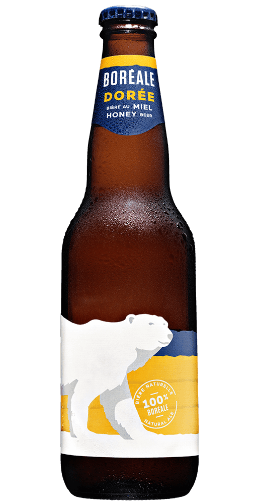 Boreale doree bouteille