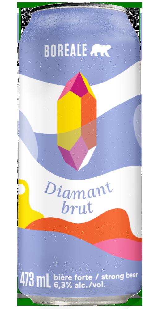 Diamant Brut 3 D