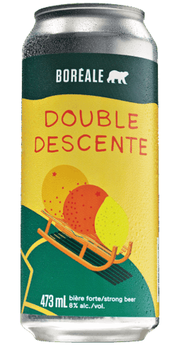 Boreale double descente cannette