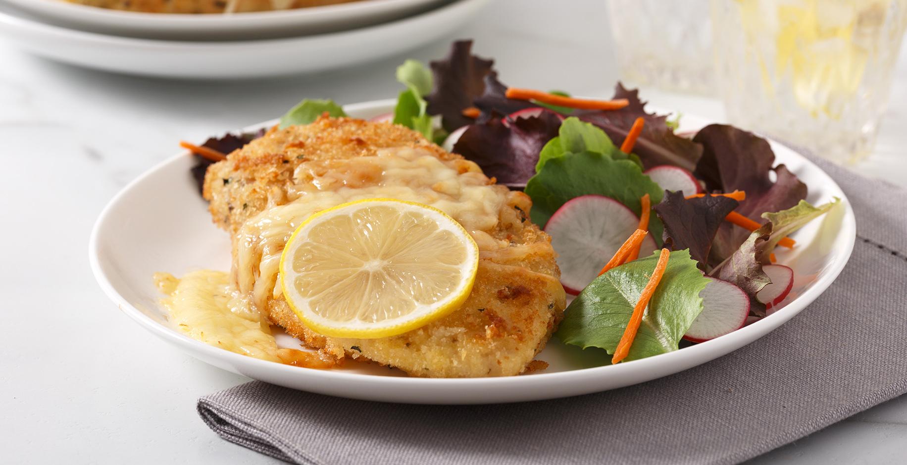 PRATICOP Poitrines de poulet au citron et parmesan