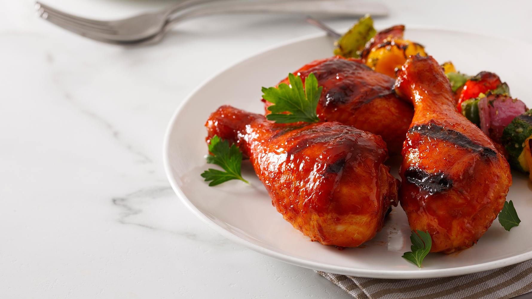 Pilons de poulet style cotes levees