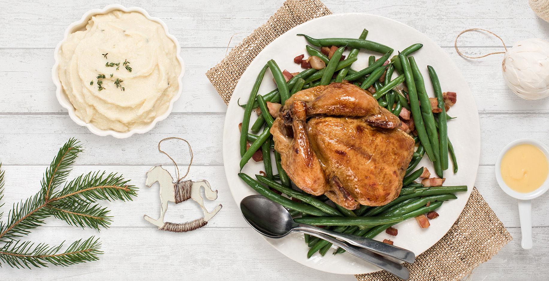 Poules de Cornouailles au beurre blanc a lerable