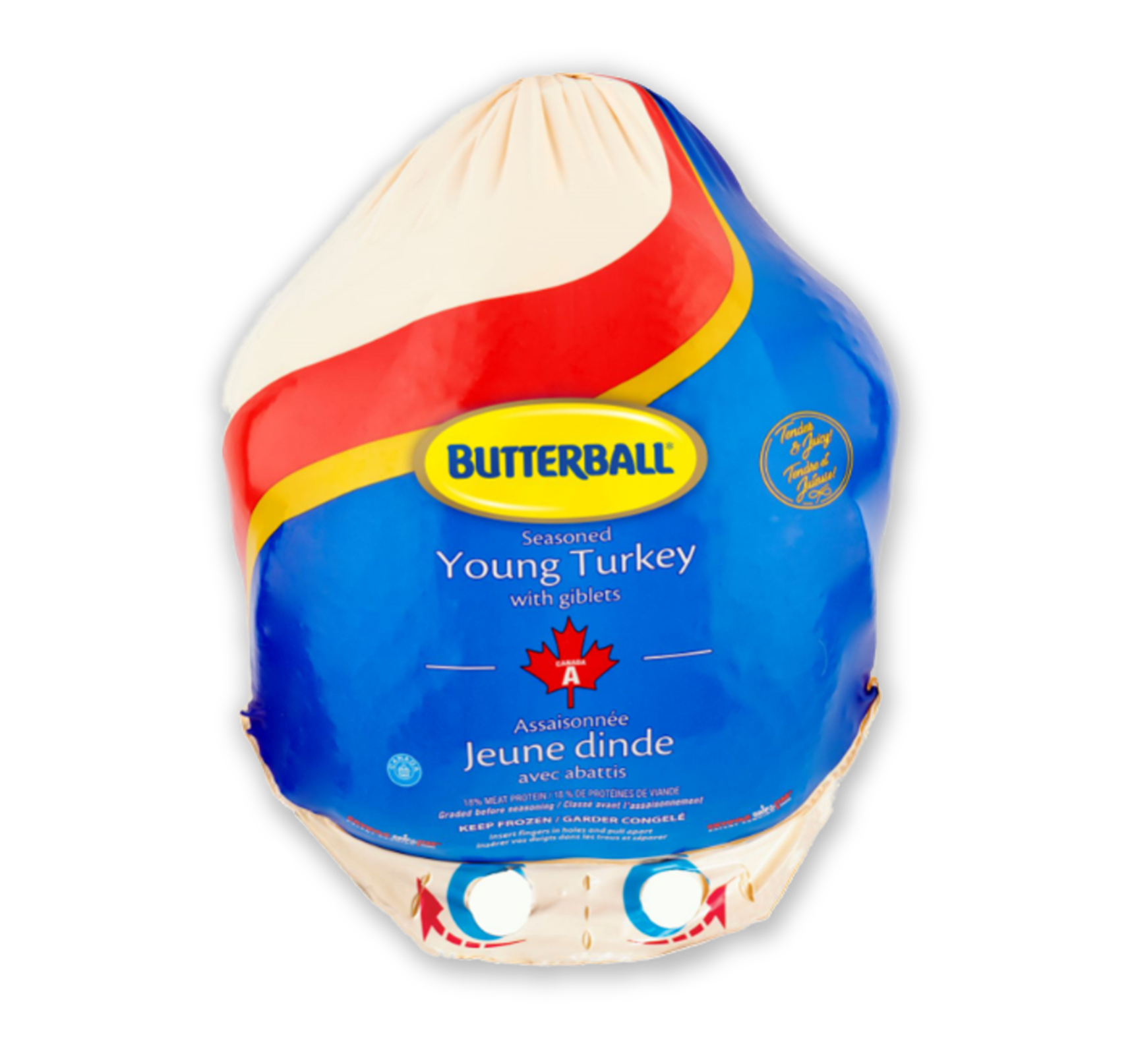 Butterball Frozen turkey Bigger
