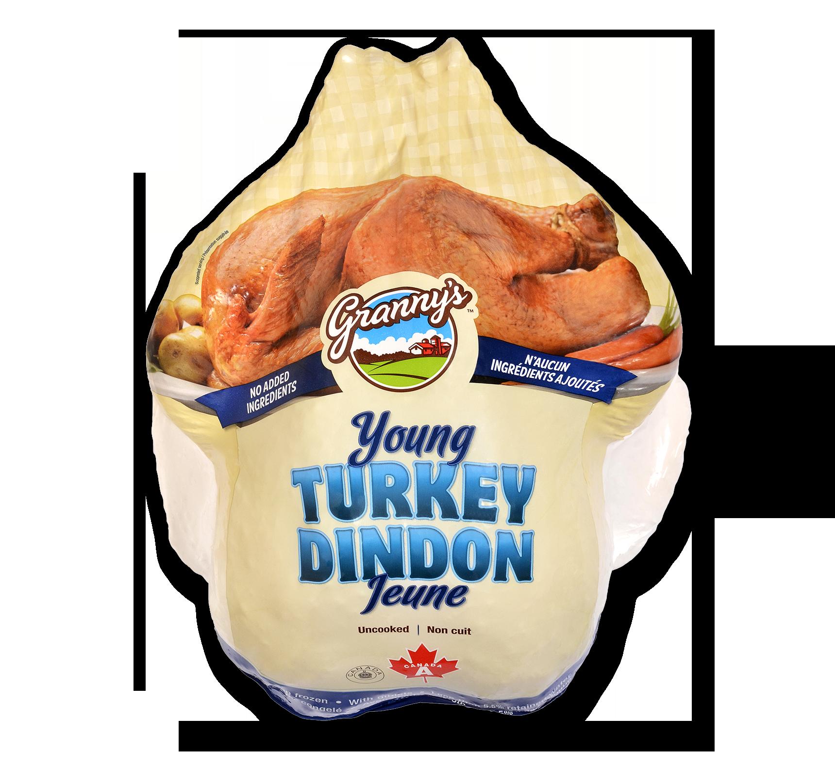Grannys Grade A Frozen Turkey Bigger