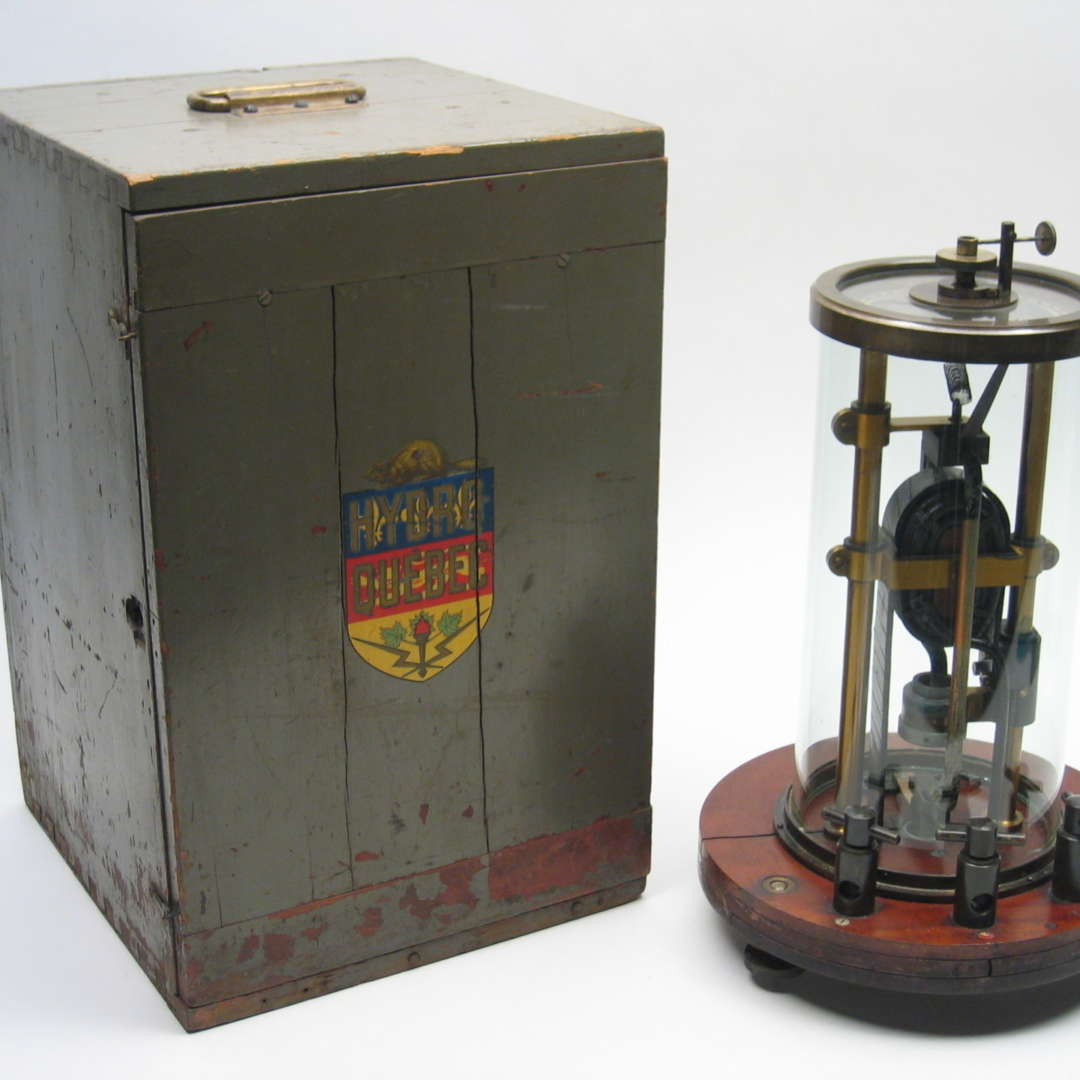<p>MLH&P electrodynamometer. </p> <p>©Hydro-Québec's historical Collection.</p>