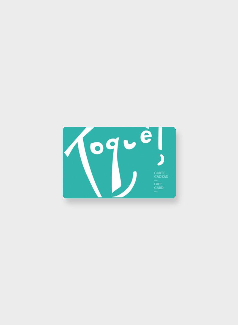 Carte Cadeau Toque Boutique Signe Toque