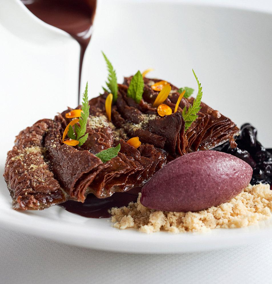 Mousse Chocolat Andoa Dessert Toque