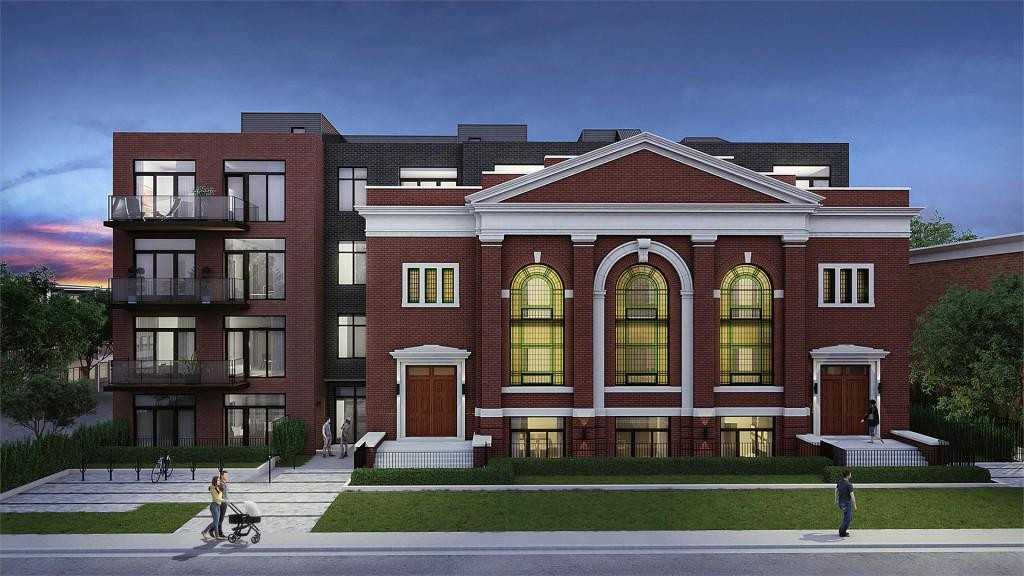 Renderings for First Sunday School Lofts Near Danforth & Donlands Revealed