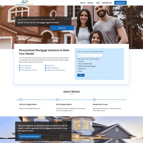 home page size