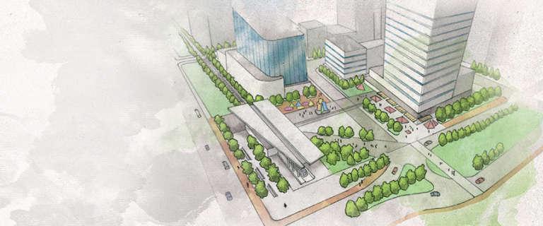 Meilleure intégration des zones d'emplois de l'administration publique fédérale dans le paysage urbain