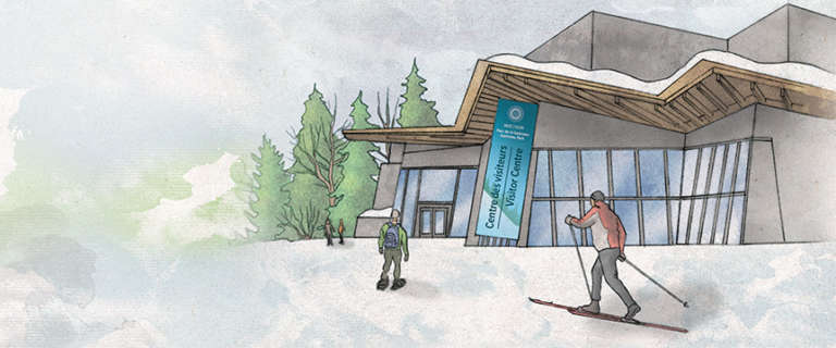New Gatineau Park Visitor Centre and improved trails