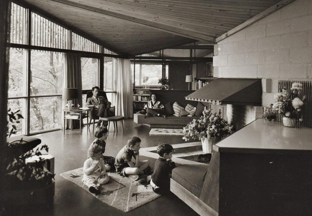 Maison Strutt (construite en 1956), parc de la Gatineau