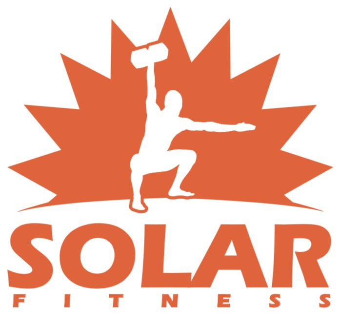 Solar logo fitness