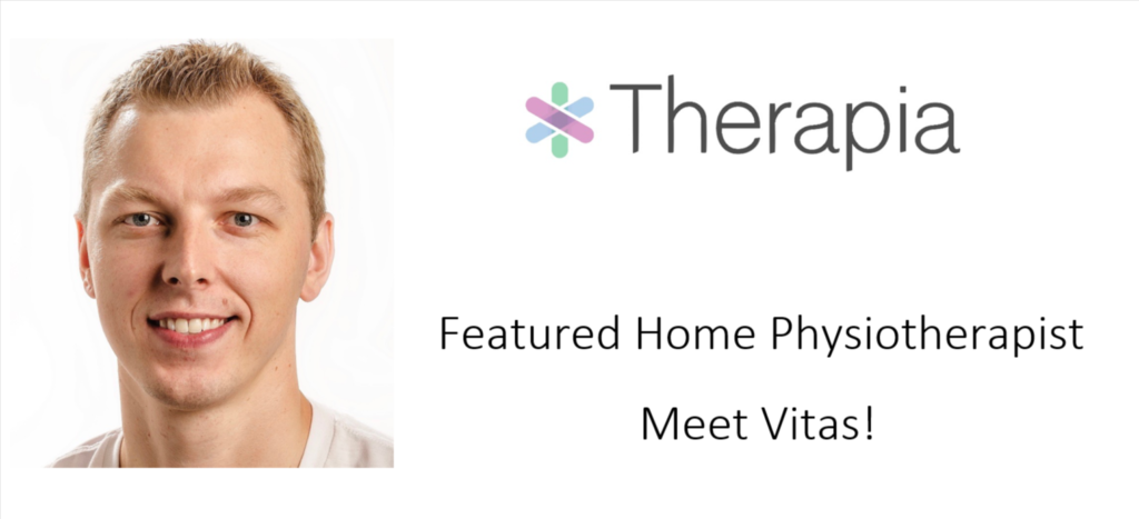 featuring therapia physiotherapist Vitas