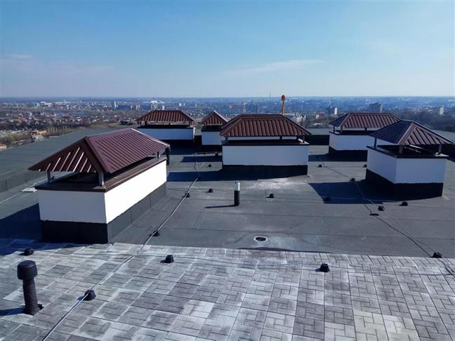 Snow And Your Flat Roof Roofco Roofing Specialists