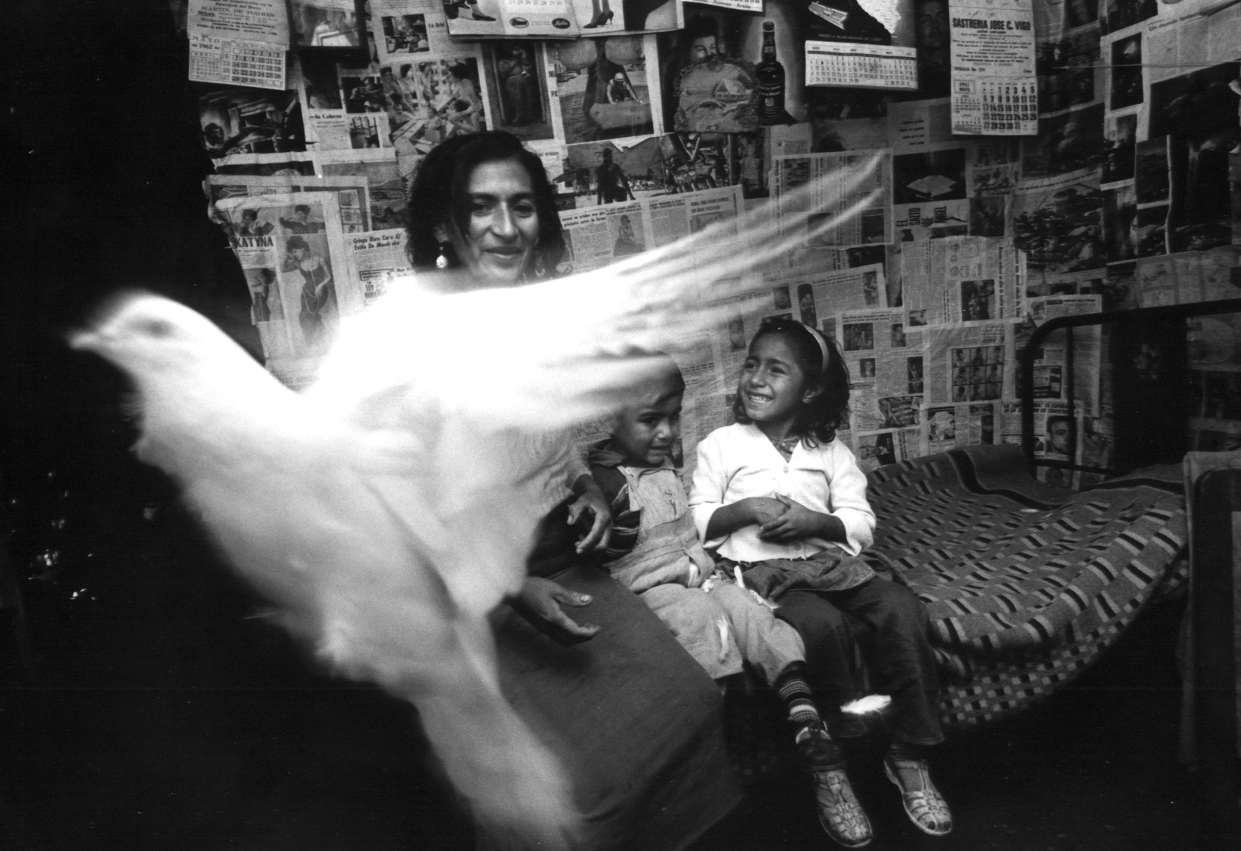 Ken Heyman, Family in Lima, Peru, 1964. Photographed on assignment for the United States Information Agency