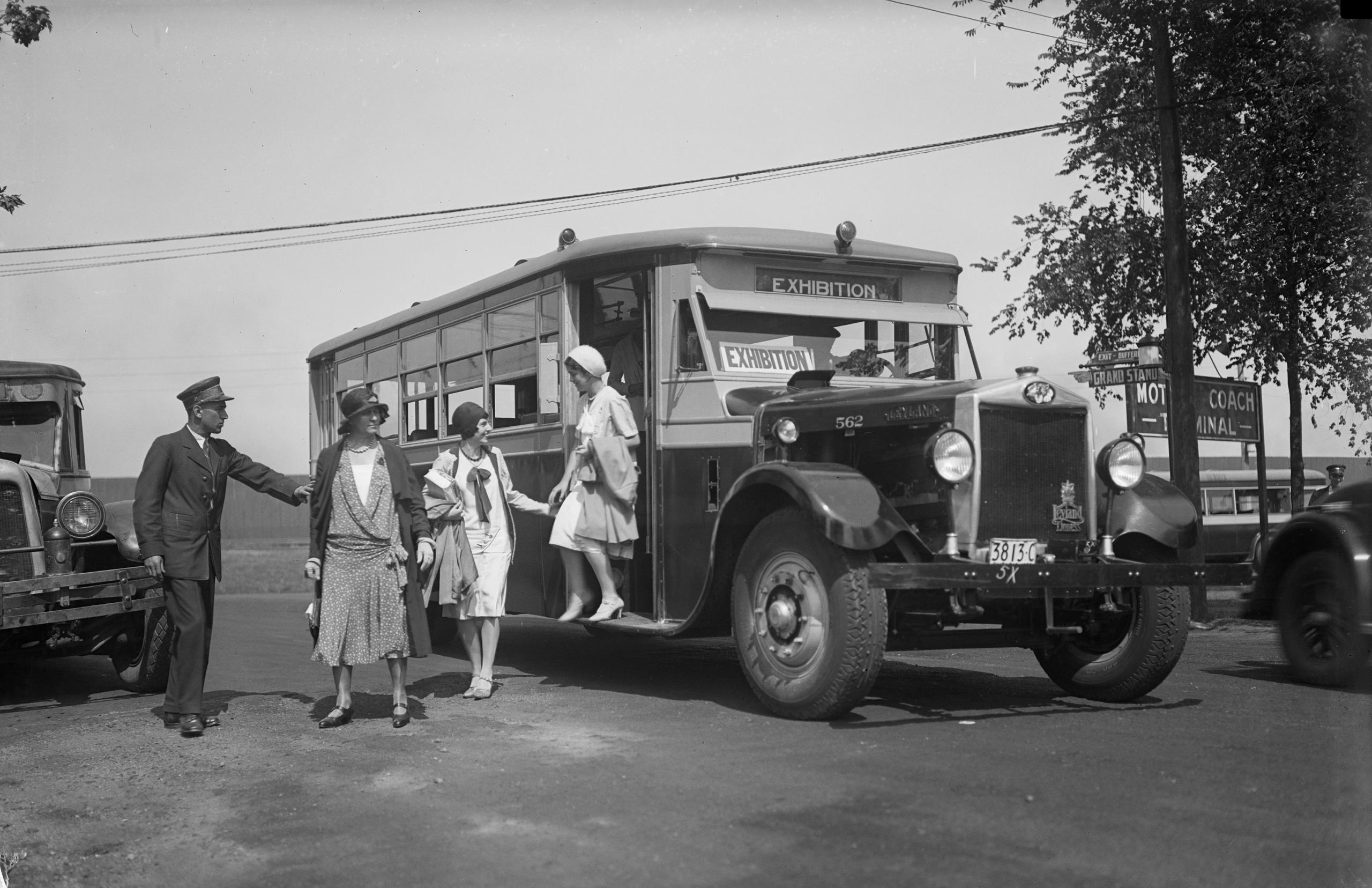 TTC Archives, CNE Motorcoach, 1930