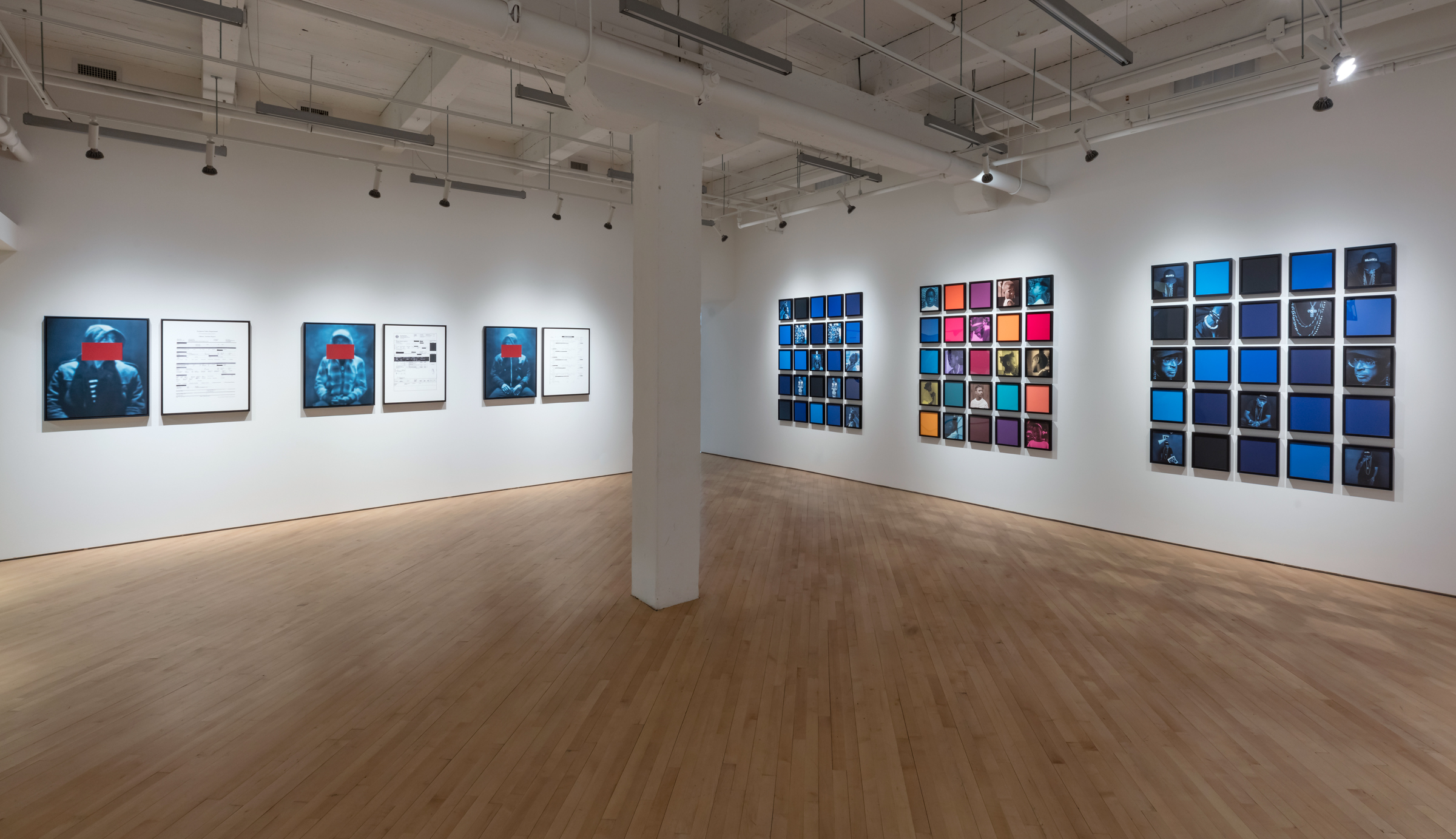 Carrie Mae Weems, Installation view of Blending the Blues, CONTACT Gallery, Toronto, May 1 - July 27, 2019. Photo: Toni Hafkenscheid. Courtesy CONTACT, the artist, and Jack Shainman Gallery, New York, NY.