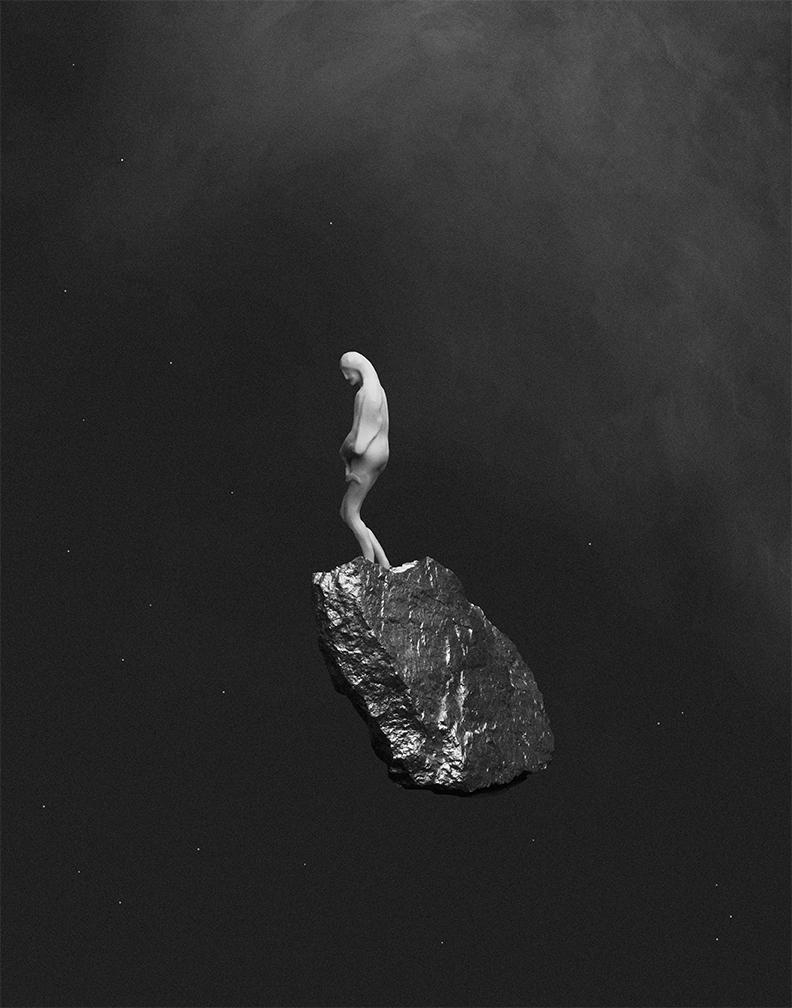"Neeko Paluzzi, Mother, 2019. Archival inkjet print, 12 x 15""."