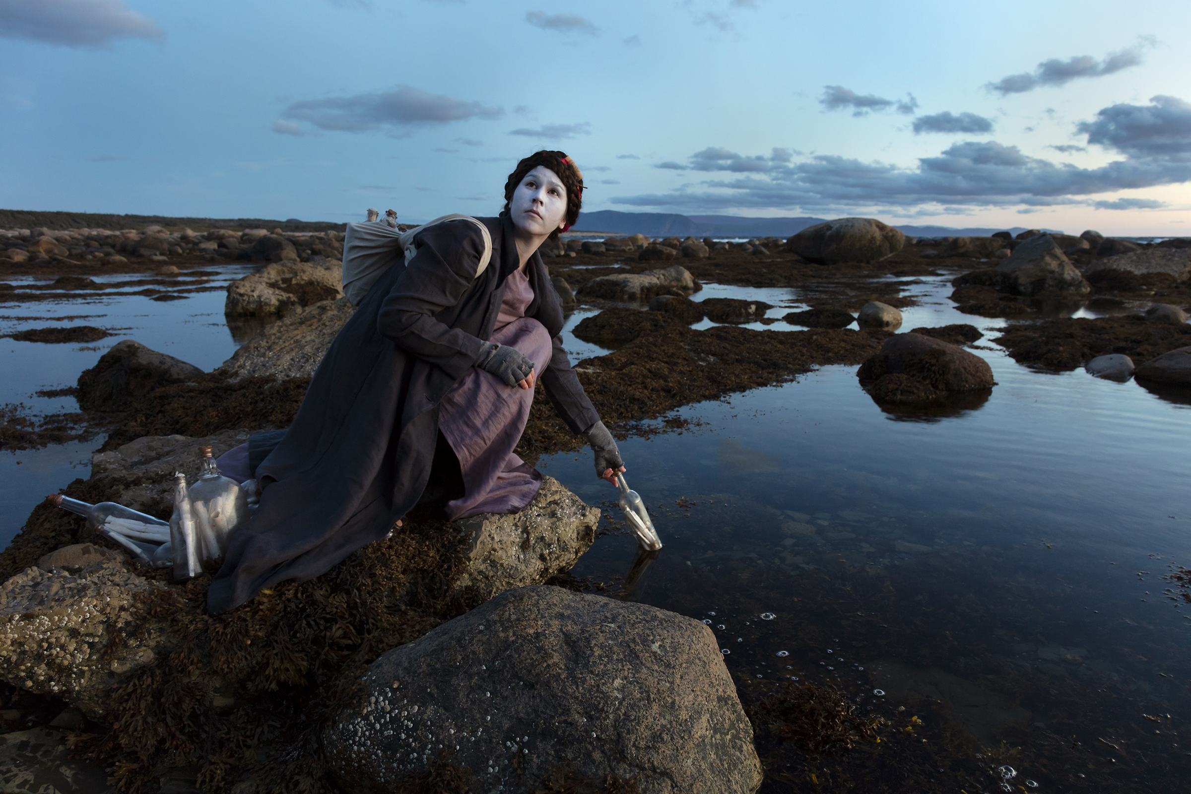 Meryl McMaster, Ordovician Tide I, 2019. From the series As Immense as the Sky. Courtesy of the artist, Stephen Bulger Gallery and Pierre-François Ouellette art contemporain.