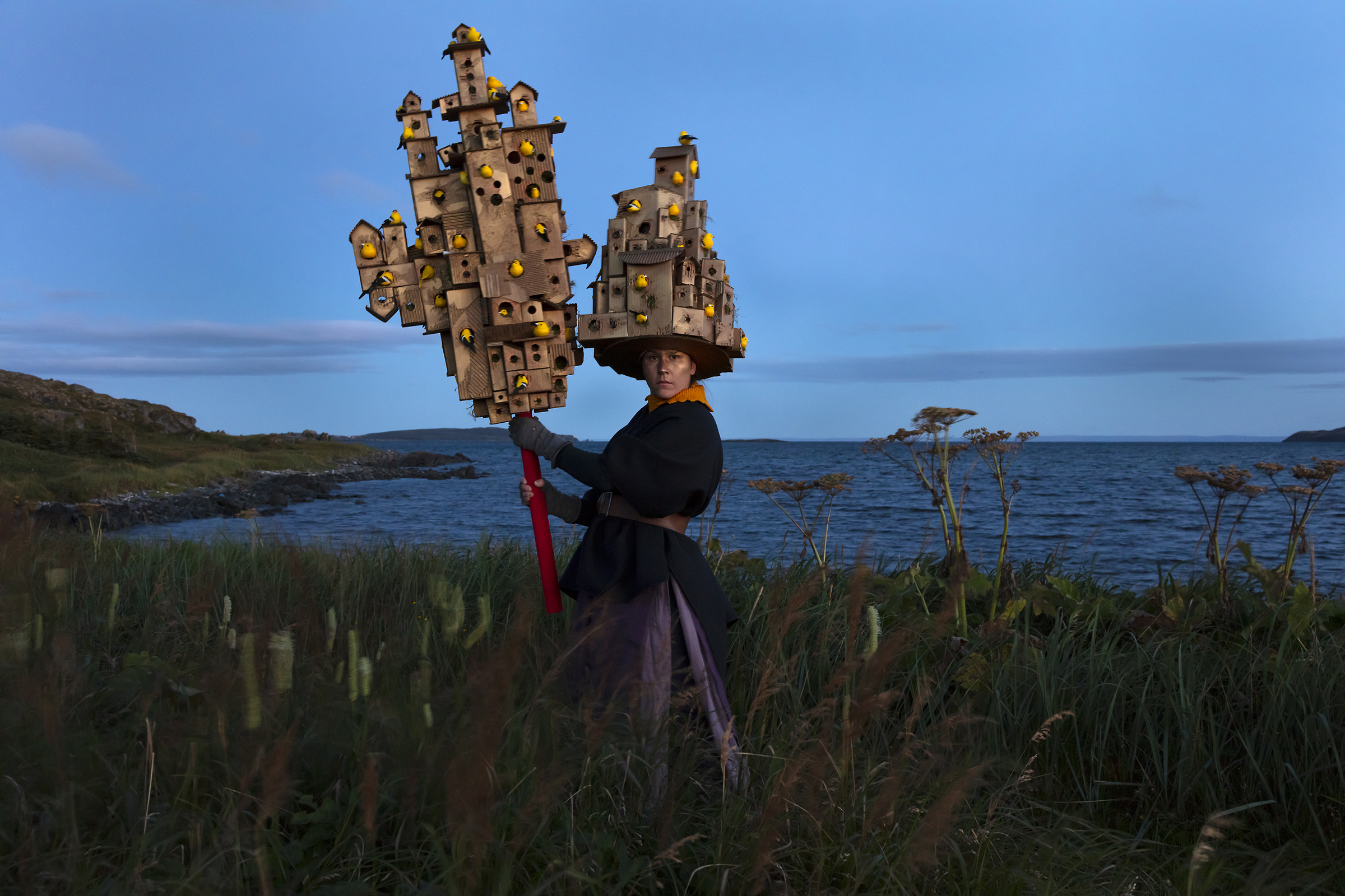 Meryl McMaster, Harbourage For a Song, 2019. From the series As Immense as the Sky. Courtesy of the artist, Stephen Bulger Gallery and Pierre-François Ouellette art contemporain.