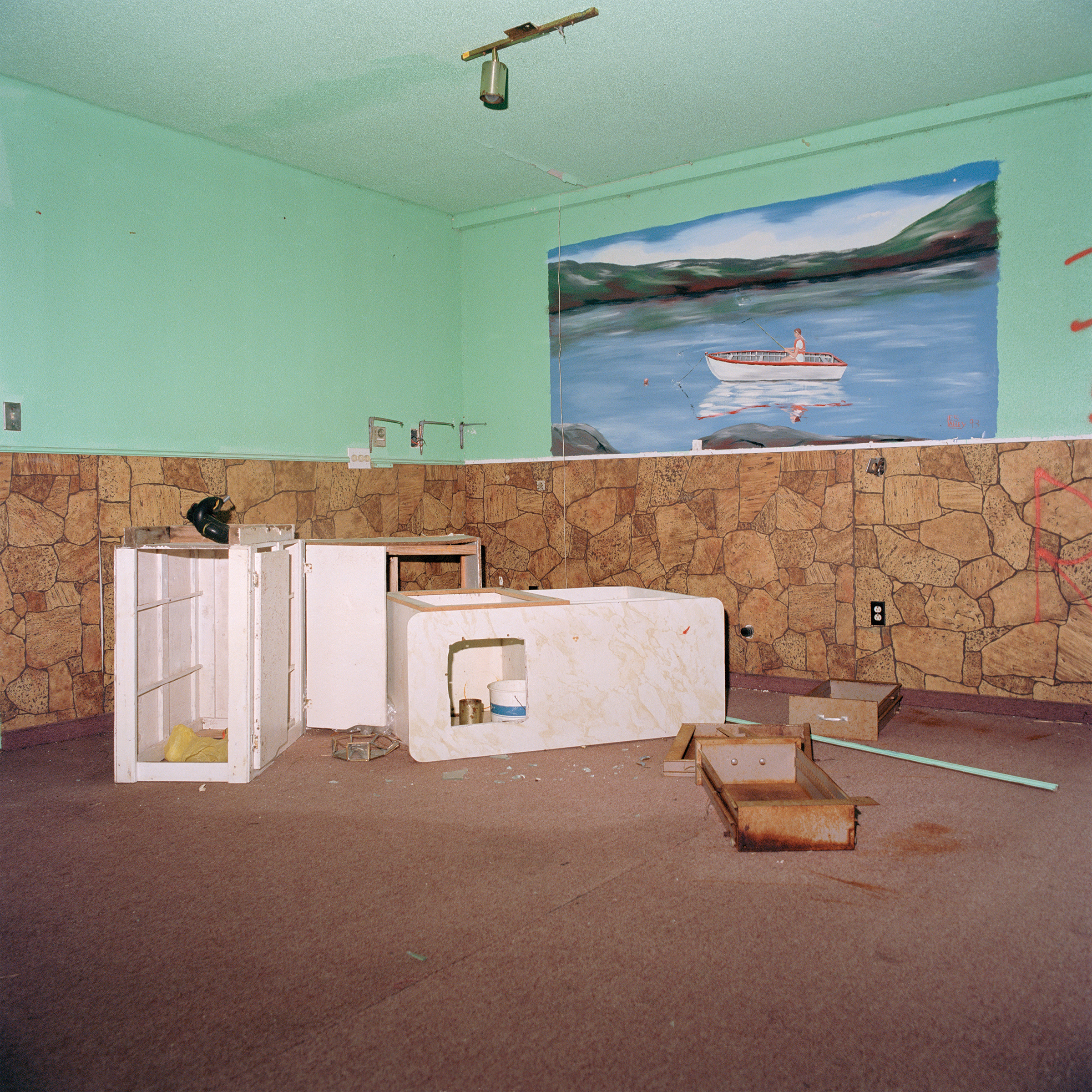Ethan Murphy, Abandoned Room, from the series Where the Light Shines First, 2017. Courtesy of the artist