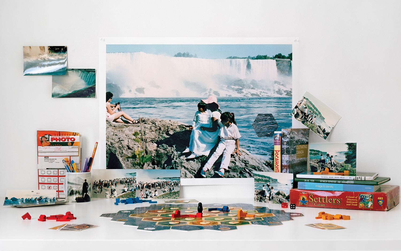 Zinnia Naqvi, The Wanderers - Niagara Falls, 1988, 2019. Courtesy of the artist.