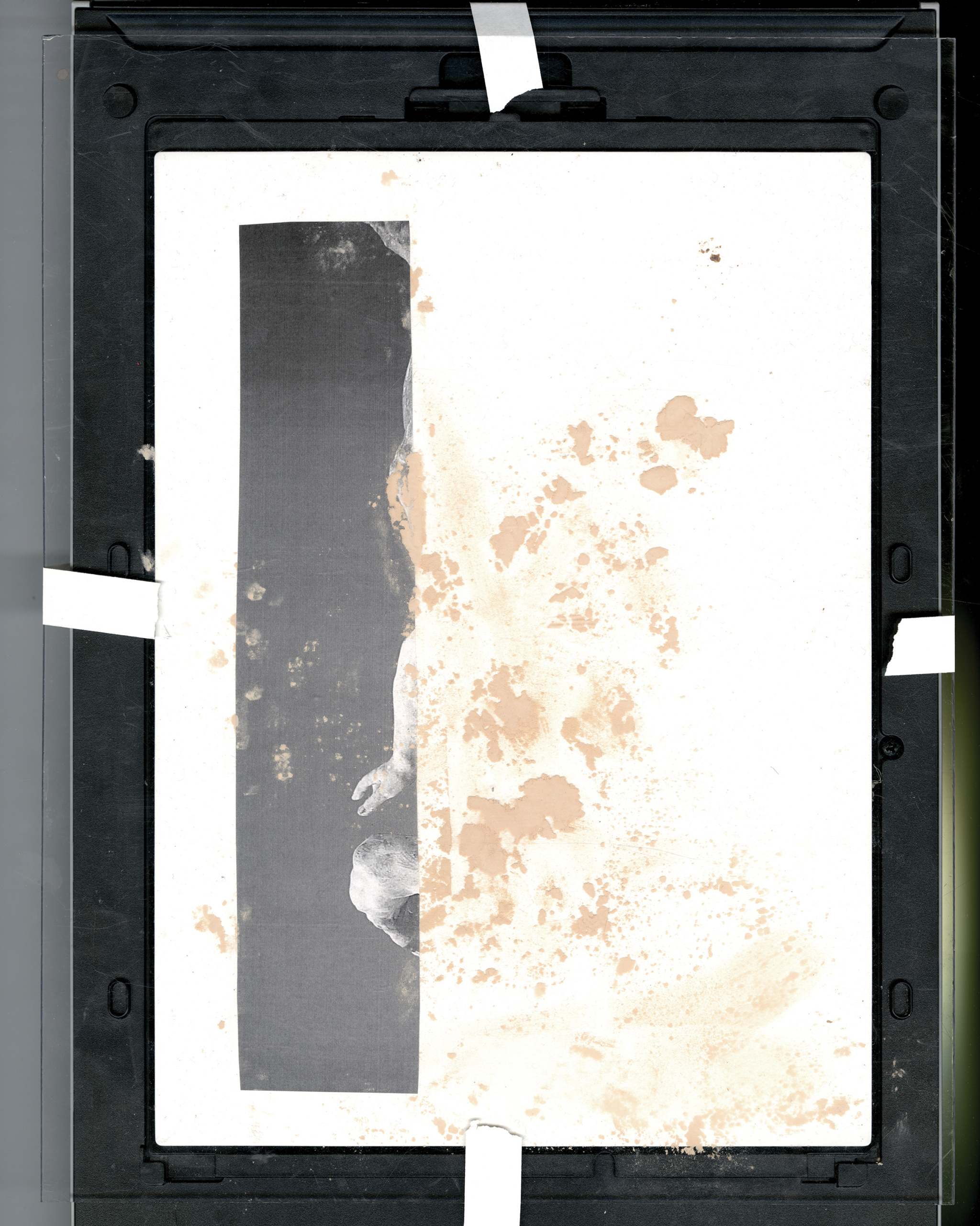 Jackson Klie, Untitled (foundation), 2019. Inkjet print.